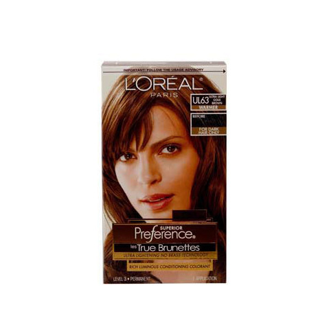 Oreal Superior Preference True Brunettes Ul61 Ultra Light Ash | Dark Brown Hairs