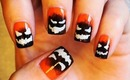 Evil Pumpkin Nails