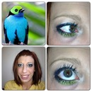 Bird of Paradise Inspired Look