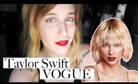 TAYLOR SWIFT MAKEUP TUTORIAL | SARAH KRISTINA