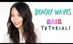 How I curl my Hair! | Beachy Waves Hair Tutorial