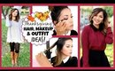 Thanksgiving Hair, Makeup + Outfit Ideas! 2014