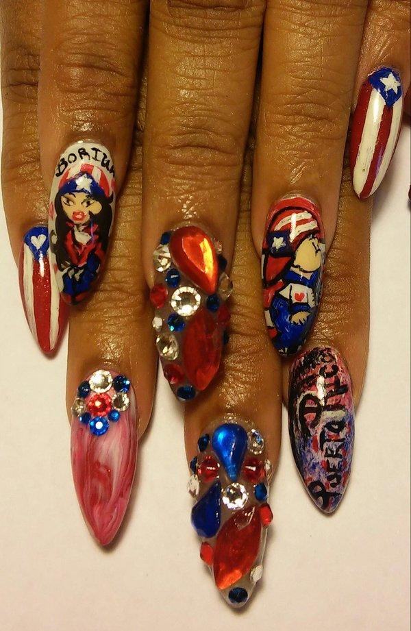 Puerto Rico Nails Nea Rs Photo Beautylish