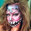 Cheshire Cat - Halloween makeup