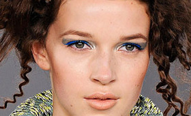 Louise Gray Makeup, London Fashion Week S/S 2012