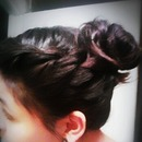 Effortless Updo(: for short hair!