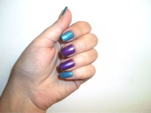 Can you guess what two nail polishes these are? Check out my blog to see if you got it right! http://missdawn1012.blogspot.com
