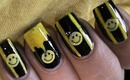 Cute Smiley Easy Nail Design For Beginners- easy nail design for long & short nails tutorial at home