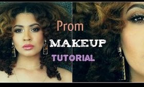 Bronze Smoky Eye Prom Makeup Tutorial