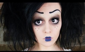 Tim Burton Inspired Character Makeup