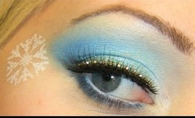 Sparkling Blue Winter Eyes