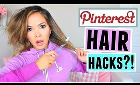 Pinterest HAIR Hacks Tested!