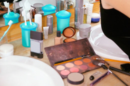 Storing Makeup in the Bathroom: A Don't!