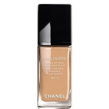 chanel vitalumiere moisturerich radiance fluid makeup