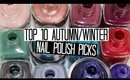 Top 10 Autumn/Winter Nail Polish Colours 2015