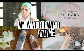 My Winter Pamper Night Routine