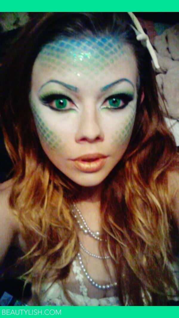 Halloween Mermaid Makeup Shawn Ps Photo Beautylish - Mermaid Halloween Makeup Ideas