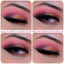 Candy HOTPINK & GOLD