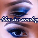 Winter Blue Smokey Eyes