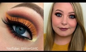 THANKSGIVING Makeup Tutorial - Melt and Makeup Geek shadows! Collab with Caroline Toledo