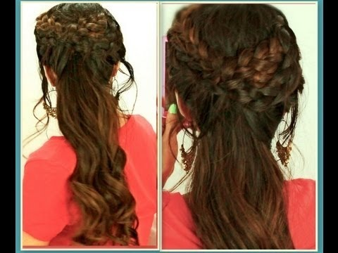 ★hair tutorial cute hairstyles with grecian braid for