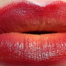 Orange to Red Ombre lips