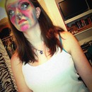 Got bored so had fun on my friends face! lol