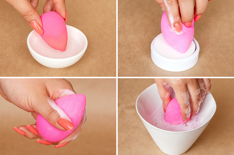 How to Clean Makeup Sponges