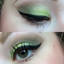 Pop of green
