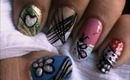 Magic nails- Cute Patterns - easy nail art for short nails- nail art tutorial- beginners designs