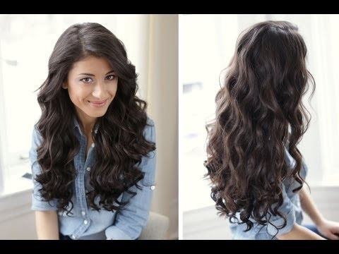 How To: Sexy Curls Hair Tutorial | LuxyHair Video | Beautylish