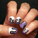 Galaxy Goop Nails