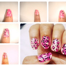 Girly Leopard Nails!!