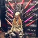 Oh, You Know, Just My Lipstick Throne