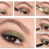 Eye makeup for blue/green/grey eyes