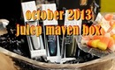 Julep Maven Box October 2013 + Swatches + Nail Design