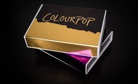 Colourpop Holiday 2015 Collection Swatches & Review|| Blitzed & Vixen