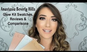 Anastasia Beverly Hills Glow Kit Swatches, Reviews, and Comparisons