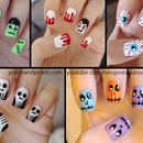 Five Easy Halloween Nail Ideas
