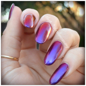 Swatch and review: http://www.thepolishedmommy.com/2014/03/crowstoesindiansummer.html  #marchmultichromemadness #crowstoes #indie #purchasedbyme