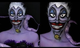 Disney Villain Series: Ursula The Little Mermaid Makeup Tutorial