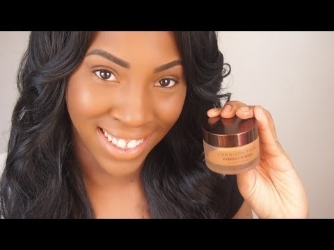 Fashion Fair Foundation Review Full Coverage Foundation