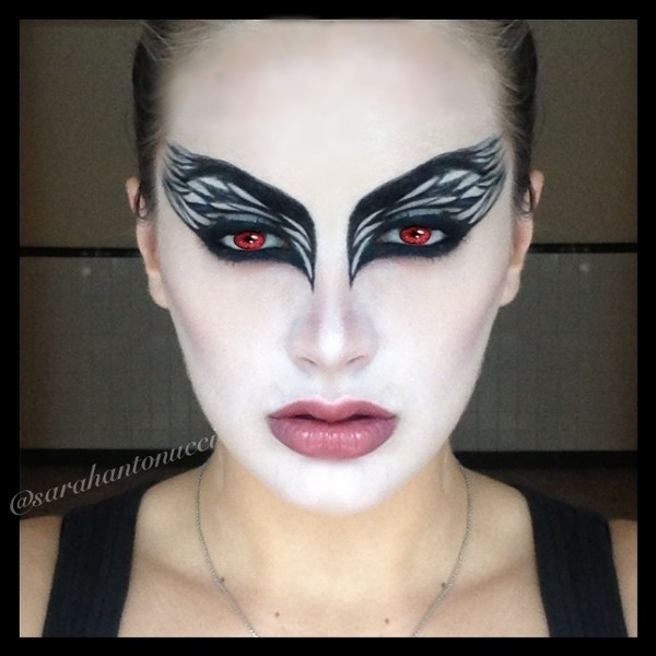 halloween black swan look sarah a 39 s photo beautylish. Black Bedroom Furniture Sets. Home Design Ideas