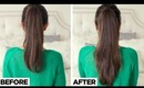 Longer Ponytail in 2 Minutes