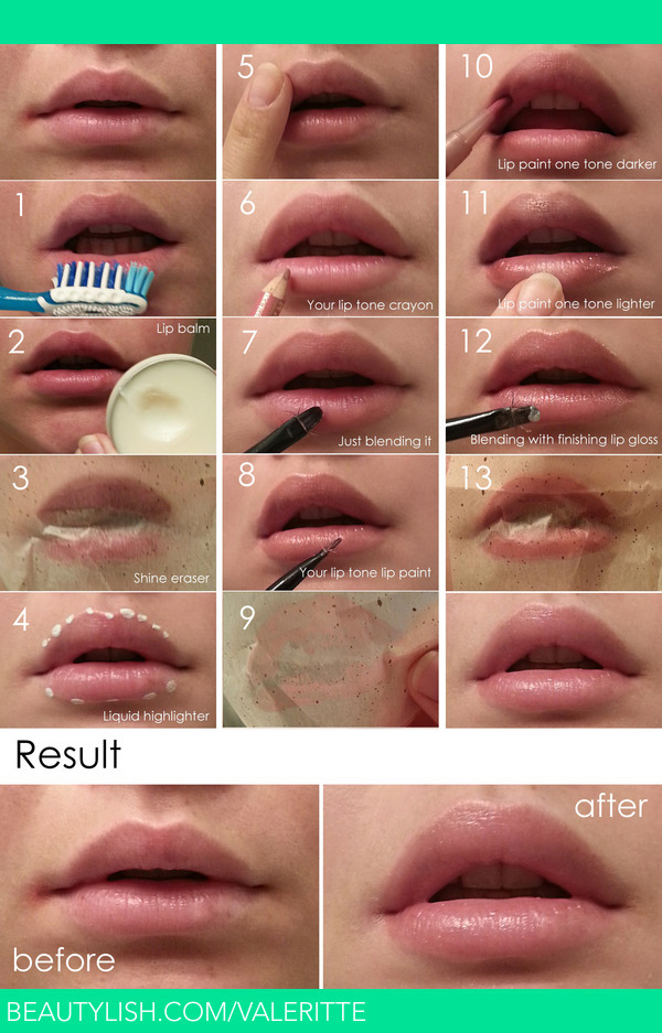 the make Tutorial way I natural do to it! tutorial lips perfect about yummy full how  kissable makeup