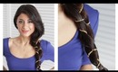 Holiday Dressed Up Figure Eight Braid
