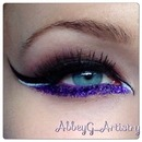 Purple cat eye!
