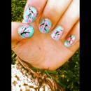 Arizona tea can nails