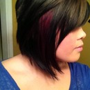 Merlot and Caramel w/ Graduated Bob