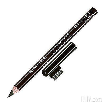 rimmel london professional eyebrow pencil black 004